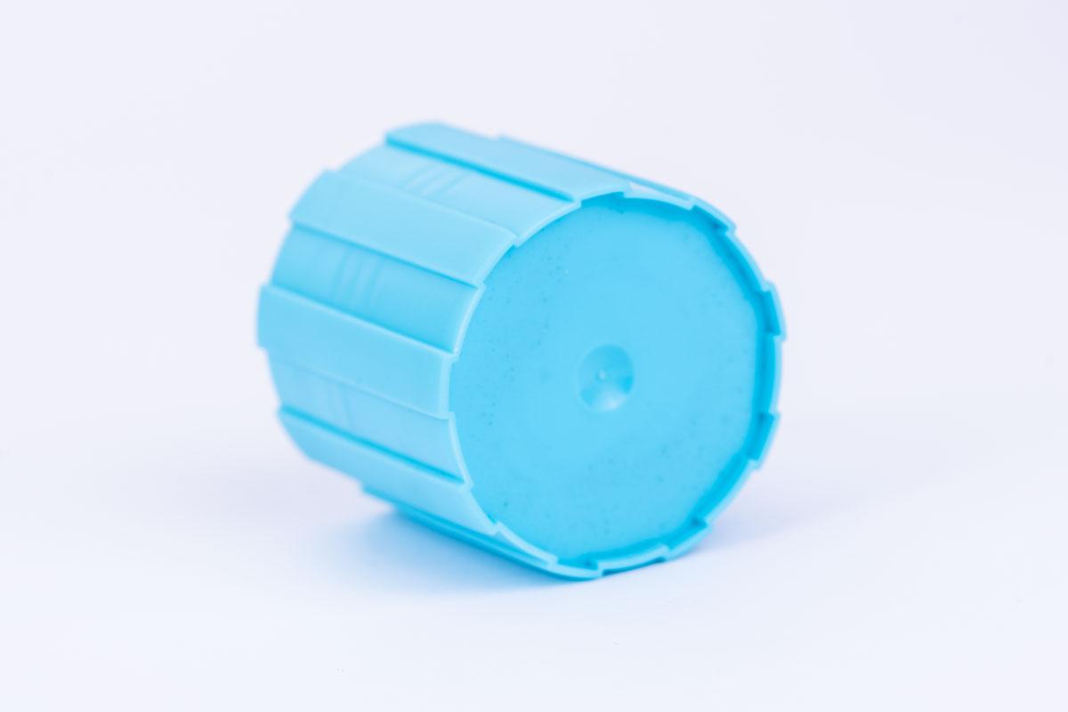 Spuitgieten van een dop in polyethyleen