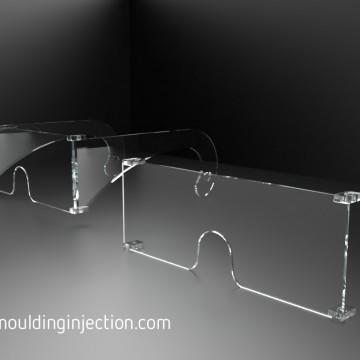 Spuitgietmatrijzen voor het spuiten van Polycarbonaat veiligheidsbrillen