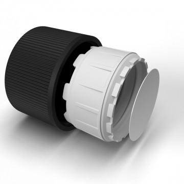 20 mm kinderveilige dop zwart