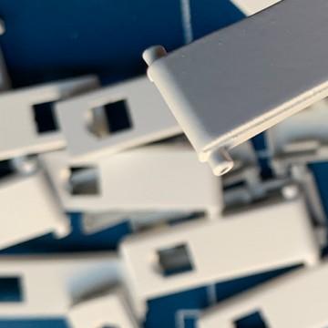 Creatie van prototypes gemaakt in ABS gegoten in een matrijs met silicone.